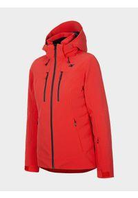 Czerwona kurtka narciarska 4f Dermizax, na zimę