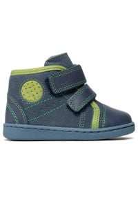 RenBut - Trzewiki RENBUT - 13-1423 Jeans Zielony. Kolor: niebieski. Materiał: skóra, zamsz. Sezon: zima, jesień #3