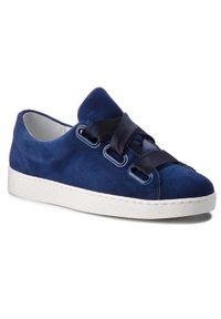 Niebieskie buty sportowe Gino Rossi