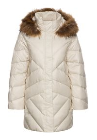 Biała kurtka puchowa Pennyblack
