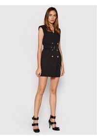 Liu Jo Sukienka koktajlowa CF1107 T2200 Czarny Regular Fit. Kolor: czarny. Styl: wizytowy