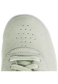 Zielone buty sportowe Reebok na co dzień, z cholewką