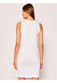 Biała sukienka Champion na co dzień, prosta
