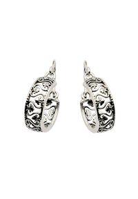 Polcarat Design - Kolczyki srebrne K 1538. Materiał: srebrne. Kolor: srebrny
