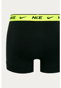Czarne majtki Nike z nadrukiem