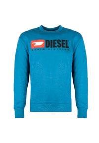 """Diesel Bluza """"S-Crew"""". Okazja: na co dzień. Materiał: bawełna. Styl: casual"""