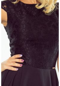 Sukienka koktajlowa Numoco elegancka, z krótkim rękawem