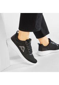Kappa - Sneakersy KAPPA - Ces Nc 242685NC Black/White 1110. Okazja: na co dzień. Kolor: czarny. Materiał: materiał. Szerokość cholewki: normalna. Sezon: lato. Styl: casual #7