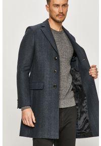 Niebieski płaszcz Tommy Hilfiger Tailored na co dzień, casualowy