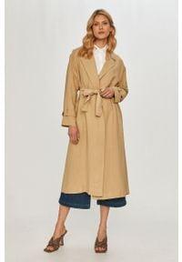 Płaszcz TwinSet bez kaptura, klasyczny, gładki