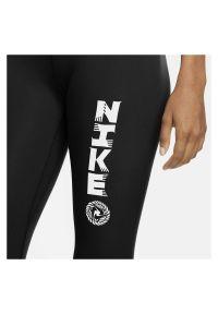 Spodnie treningowe damskie Nike One Icon Clash CU5036. Materiał: skóra, poliester, materiał. Technologia: Dri-Fit (Nike). Sport: fitness, bieganie