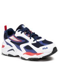 Sneakersy FILA - Cr-CW02 X Ray Tracer Kids 1011252.21N Fila Navy. Okazja: na uczelnię, na spacer, na co dzień. Kolor: niebieski. Materiał: skóra, materiał. Szerokość cholewki: normalna. Styl: casual