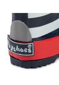 Kalosze Playshoes marine, z aplikacjami