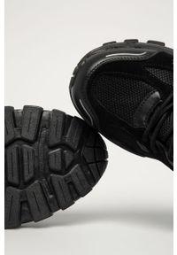 Czarne sneakersy Big-Star z cholewką, na sznurówki