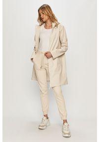 Kurtka Calvin Klein Jeans z kapturem, gładkie, casualowa