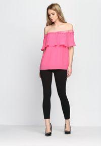 Różowa bluzka hiszpanka Born2be