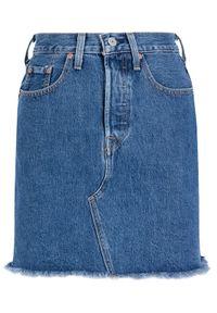 Niebieska spódnica jeansowa Levi's®