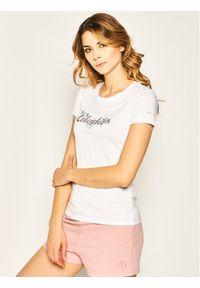 Biały t-shirt columbia