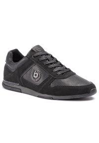 Czarne sneakersy Bugatti