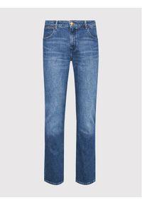Wrangler Jeansy Body Bespoke W28TJX386 Niebieski Regular Fit. Kolor: niebieski