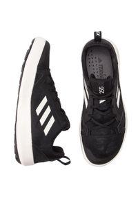 Adidas - Buty adidas - Terrex Cc Boat BC0506 Cblack/Cwhite/Cblack. Zapięcie: sznurówki. Kolor: czarny. Materiał: skóra, skóra ekologiczna, materiał. Szerokość cholewki: normalna. Technologia: ClimaCool (Adidas). Sezon: lato. Model: Adidas Terrex