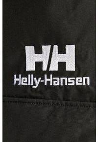 Czarna kurtka Helly Hansen z kapturem, casualowa