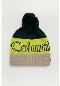 Czapka columbia z nadrukiem, na zimę