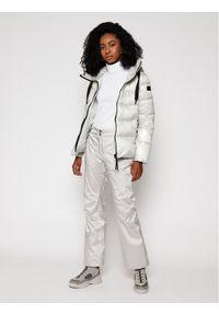 Srebrne spodnie sportowe Rossignol narciarskie