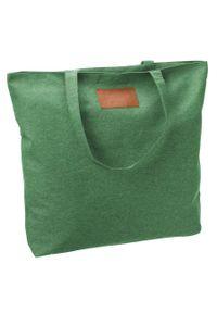 Duża torba zielona Maledives SB-01-MAL-5907 GREEN. Kolor: zielony. Wzór: melanż