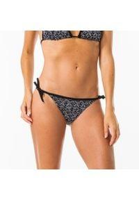 OLAIAN - Dół kostiumu kąpielowego SOFY ETHNI damski. Kolor: czarny. Materiał: poliester, elastan, poliamid, materiał