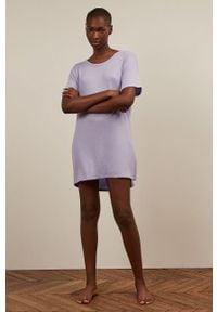 Piżama Undiz krótka, gładkie
