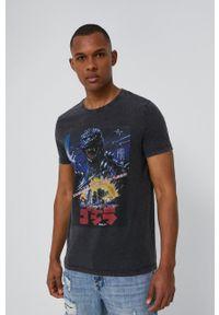 medicine - Medicine - T-shirt Licence Mix. Kolor: czarny. Wzór: nadruk
