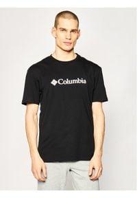 columbia - Columbia T-Shirt CSC Basic Logo EM2180 Czarny Regular Fit. Kolor: czarny