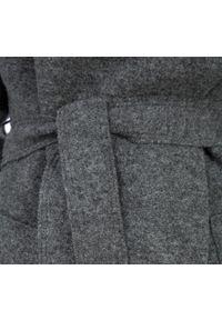 Wittchen - Płaszcz damski. Kolor: szary. Materiał: wełna. Styl: elegancki