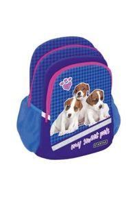 Starpak Plecak Cute Animals STK-40 granatowy (352383). Kolor: niebieski