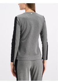 TwinSet Bluza 192LI2MAA Szary Regular Fit. Kolor: szary