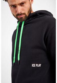 Ice Play - BLUZA ICE PLAY. Typ kołnierza: kaptur. Materiał: bawełna. Wzór: napisy