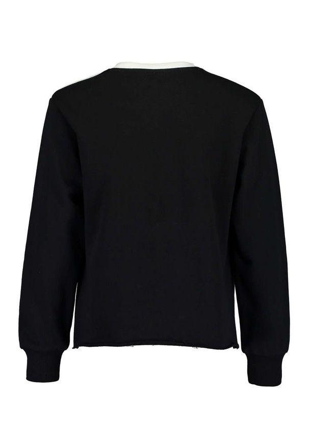 Czarna bluza Blue Seven casualowa, na co dzień, bez kaptura
