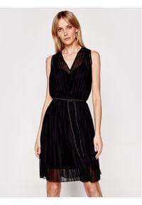 Marella Sukienka koktajlowa Nilly 36210712 Czarny Regular Fit. Kolor: czarny. Styl: wizytowy