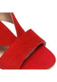 Czerwone sandały Oleksy