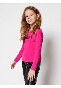Różowa bluzka DKNY