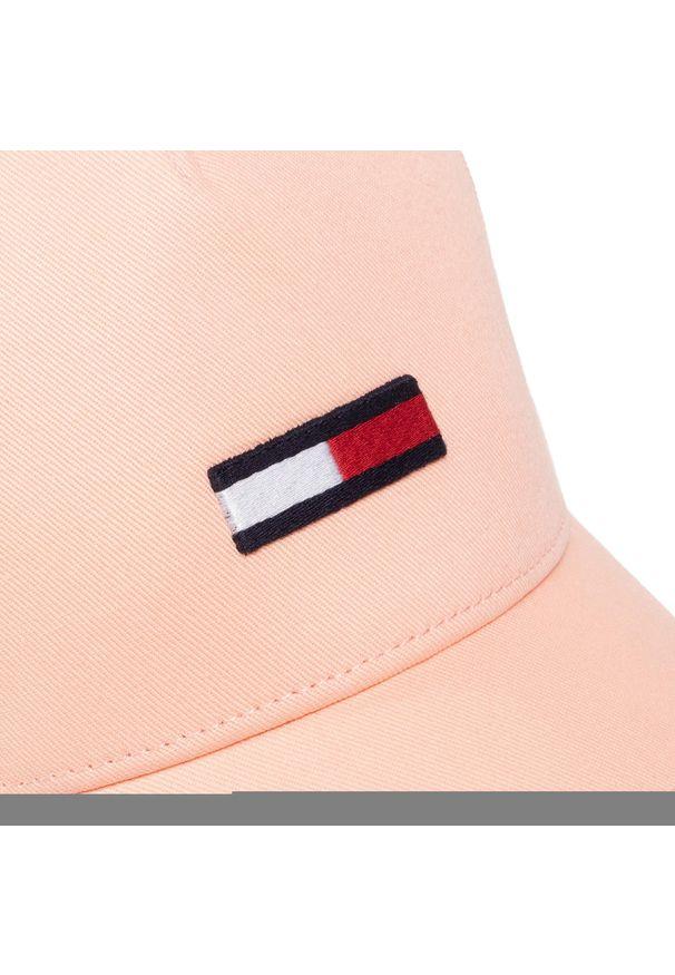 Różowa czapka z daszkiem Tommy Jeans