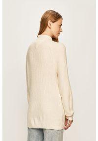Biały sweter Tommy Jeans raglanowy rękaw
