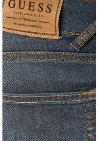 Niebieskie szorty Guess Jeans casualowe, na co dzień