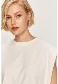Biała bluzka Miss Sixty na co dzień, casualowa