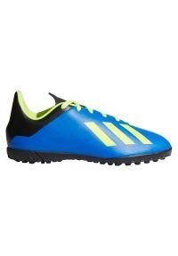 Adidas - Buty adidas X18.4 TF Jr MŚ DB2434. Szerokość cholewki: normalna. Sport: piłka nożna