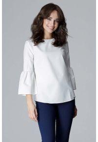 Bluzka Katrus elegancka, z krótkim rękawem