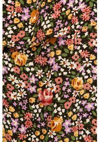 Wielokolorowa sukienka ANSWEAR z dekoltem karo, maxi, na ramiączkach