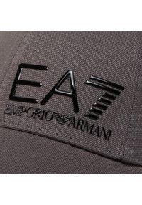 EA7 Emporio Armani - Czapka z daszkiem EA7 EMPORIO ARMANI - 275936 0P010 23744 Iron Gate. Kolor: szary. Materiał: materiał, bawełna