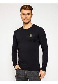 Czarna koszulka z długim rękawem VERSACE